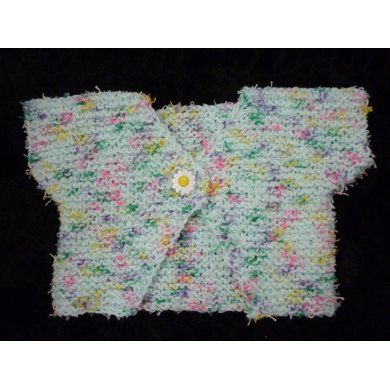 Baby/Child's (or Doll) Garter Stitch Bolero