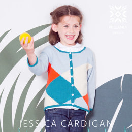 Jessica Cardigan in MillaMia Naturally Soft Cotton - Downloadable PDF
