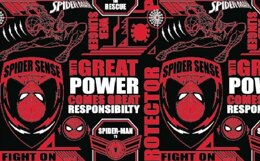 Visage Textiles Spider-Man Power & Responsibility Cut to Length - Multi