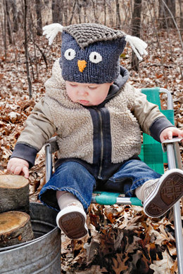 Hoot Hat in Spud & Chloe Outer and Sweater - 9203 (Downloadable PDF)
