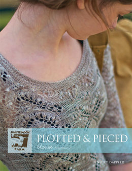 Plotted & Pieced Blouse in Juniper Moon Findley Dappled - JMF04-06 - Downloadable PDF