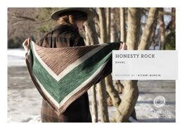 Honesty Rock Shawl by Kiyomi Burgin in The Yarn Collective - Downloadable PDF