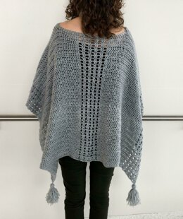 Crochet Poncho Pattern: My Easy On-The-Go Poncho