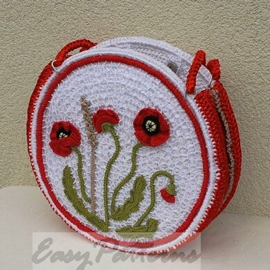 Poppy Meadow handbag