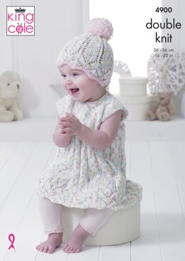 Baby Set in King Cole DK - 4900