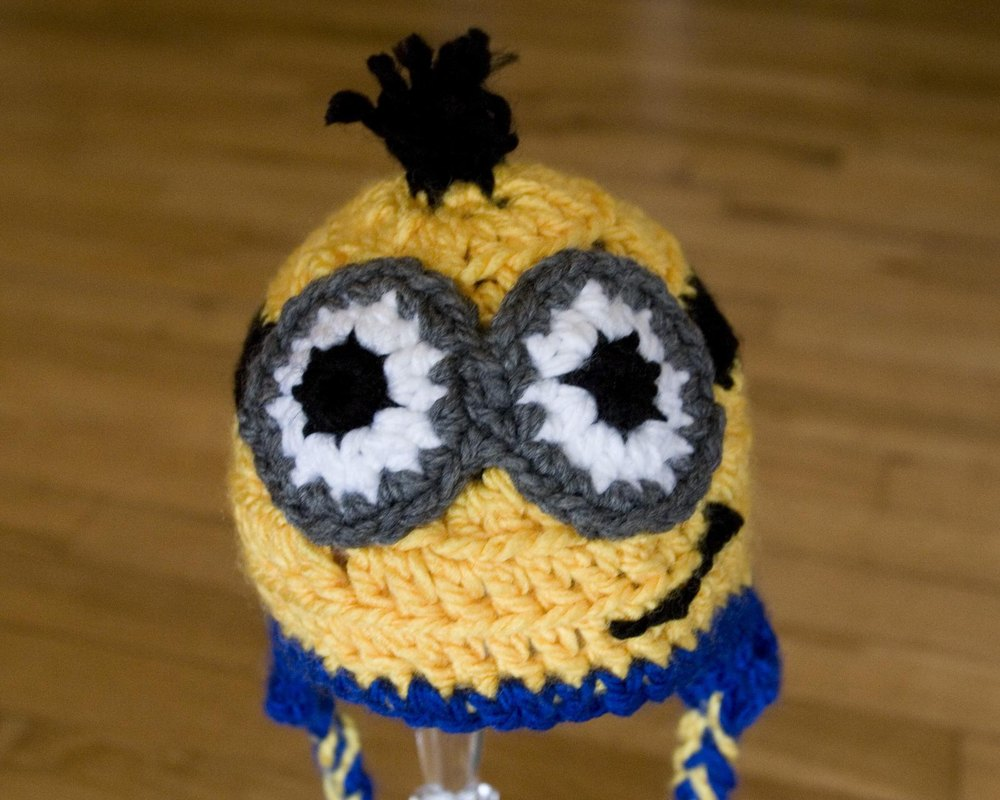 Minion Baby Hat Despicable Me Crochet Pattern By Katharine Kennedy