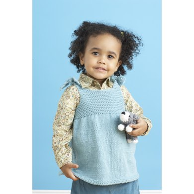 Child's Beach Top in Lion Brand Cotton-Ease - 81021AD