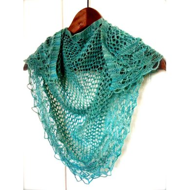 Jaali Knitted Shawl