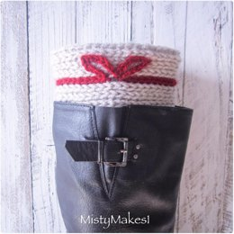 Little Bow Boot Cuffs