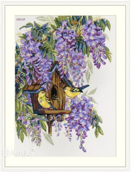 Merejka Wisteria Cross Stitch Kit