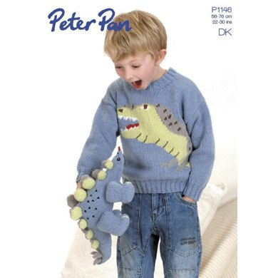 Jumper and Dinosaur Toy in Peter Pan DK (P1146)