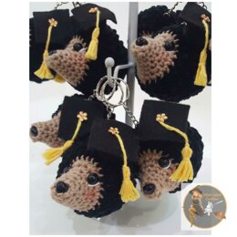 SWC Mini Graduation Hedgehog