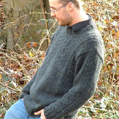 Cocoon man's sweater