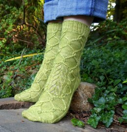 Hidden Garden Socks