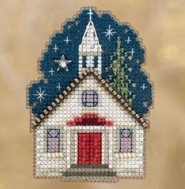 Mill Hill Sunday Night Ornament Cross Stitch Kit - 2.75in x 2.5in