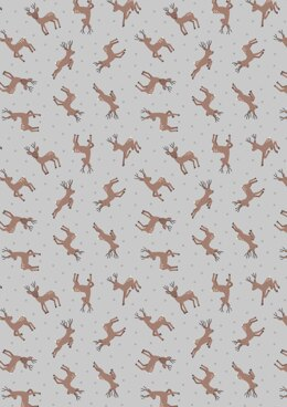 Lewis & Irene Small Things…Country Creatures Deer Grey Cut to Length