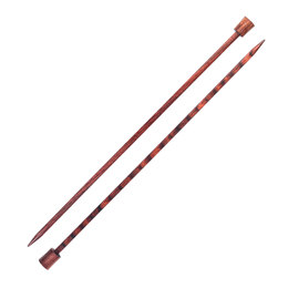 "Knitter's Pride Cubic Wood 10"" Single Pointed Needle (1 pair)"