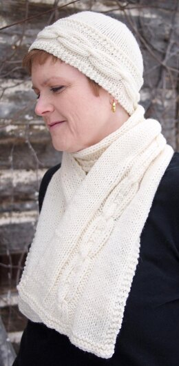 Beorn Cowl and Scarf (Worsted)