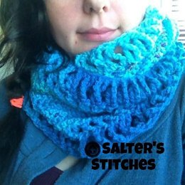 A Twist of Winter Infinity Scarf