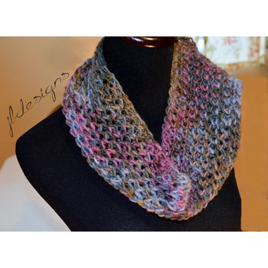 Modified Diamond Lace Scarf Loom Knitting Pattern By Joanna Brandt