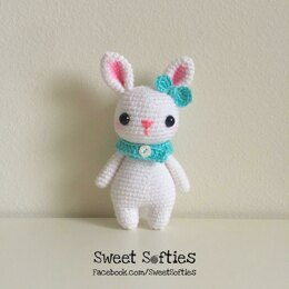 Remi the Bunny Rabbit Woodland Forest Amigurumi