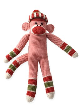 Striped Funky Monkey in Patons Classic Wool Worsted
