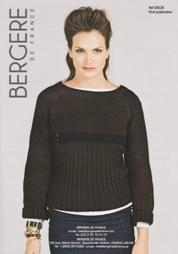 Long Sleeved Sweater Bergere de France Cachemire - 33938