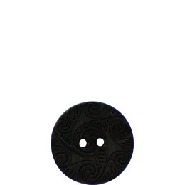 Galic Etched Coconut 23mm 2-Hole Button