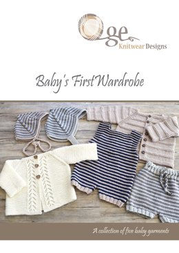 Baby's First Wardrobe - eBook