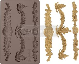 "Prima Marketing Re-Design Mould 5""X8""X8mm - Glorious Garland"
