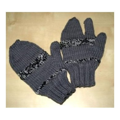 Trigger Happy Mittens Knitting pattern by Ellie Smallcombe Knitting Pattern...