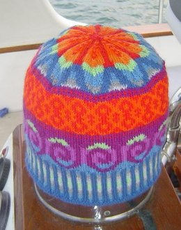 New Wave Colors Fair Isle Hat