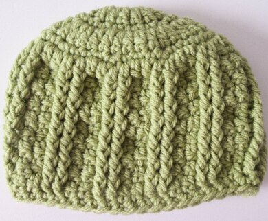Simple Textures Newborn Hat Crochet pattern by Marie Segares
