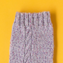 The Essential Cable Socks in Paintbox Yarns Socks - Downloadable PDF