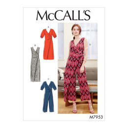 McCall's Misses' Dresses and Jumpsuits M7953 - Sewing Pattern