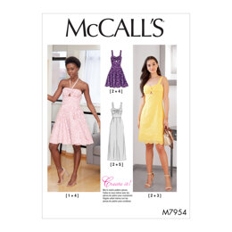 McCall's Misses' Special Occasion M7954 - Sewing Pattern