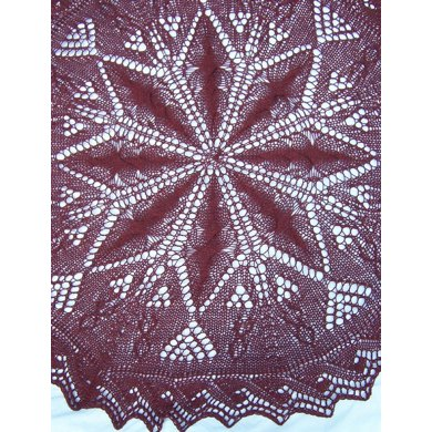 Ciarnan's Cover (a 5-foot round lapblanket or shawl)