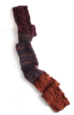 Seasons Of Change Scarf in Lion Brand Wool-Ease Thick & Quick - 90051AD