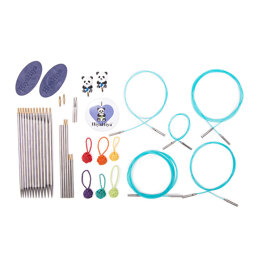"HiyaHiya Sharp Interchangeable Needle Ultimate Knitting Gift Set 12cm (5"")"