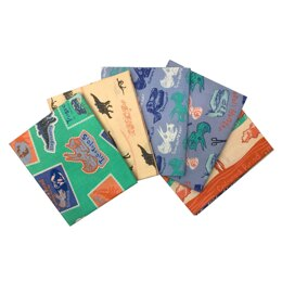 Visage Textiles Natural History Museum Explore The Plains Fat Quarter Bundle - Multi