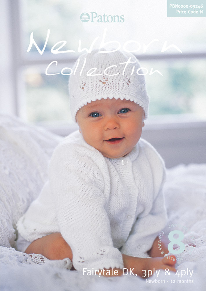 Newborn Collection Book By Patons 3246