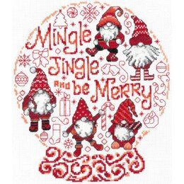 Imaginating Let's Mingle & Jingle (14 Count) - 8in x 9in
