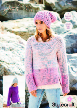 Sweaters in Stylecraft Special Super Chunky - 9592 - Downloadable PDF
