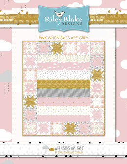 Riley Blake Pink When Skies Are Grey - Downloadable PDF