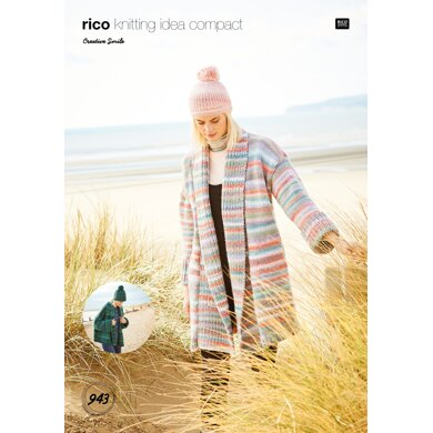 Ladies Jackets in Rico Creative Smile - 943 - Downloadable PDF