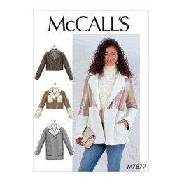 McCall's Misses' Jackets M7877 - Sewing Pattern