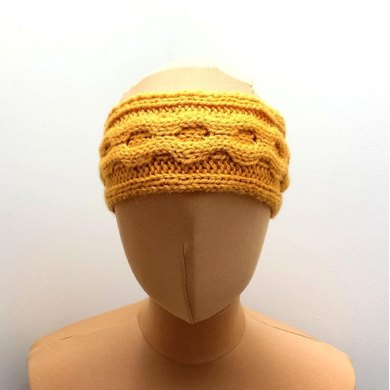 Cable Headband Earwarmer