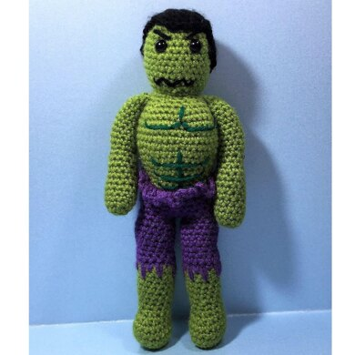 The Incredible Hulk – Free Crochet Pattern – Crochet Love ... | 390x390