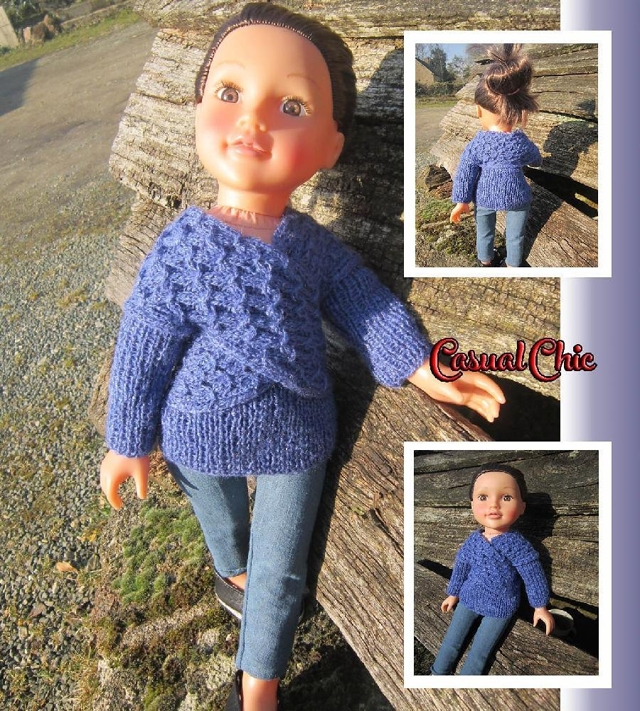 Casual Chic Sweater Knitting Pattern By Tillys Wishes Knitting