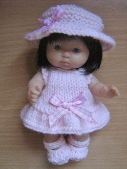 """5"""" Berenguer Doll Sunday Best Outfit"""
